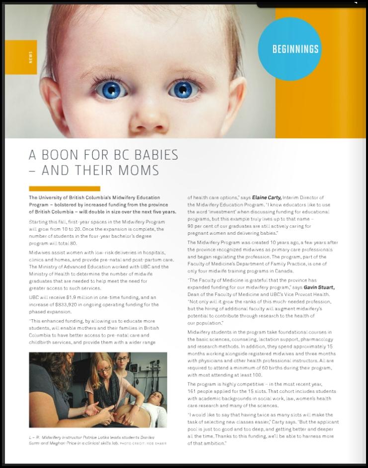 UBC Medicine Mag